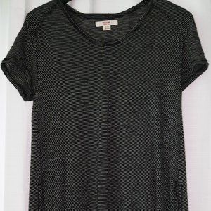Target black and white striped top
